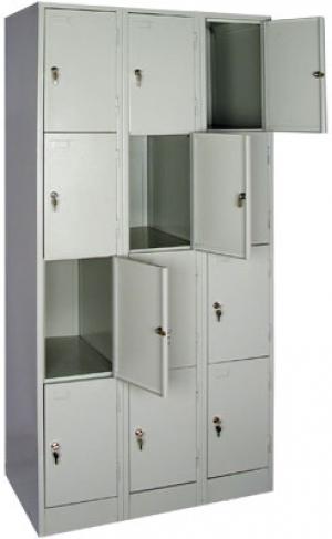 Шкаф металлический для сумок ШРМ - 312 купить на выгодных условиях в Екатеринбурге