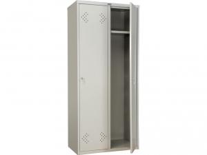 Шкаф металлический для одежды ПРАКТИК LS(LE)-21-80 купить на выгодных условиях в Екатеринбурге