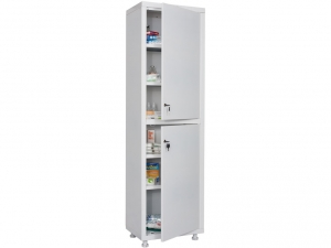 Металлический шкаф медицинский HILFE MD 1 1657/SS купить на выгодных условиях в Екатеринбурге