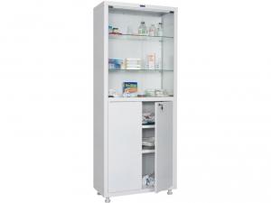 Металлический шкаф медицинский HILFE MD 2 1670/SG купить на выгодных условиях в Екатеринбурге