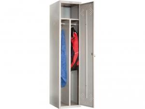 Шкаф металлический для одежды ПРАКТИК LS(LE)-11-40D купить на выгодных условиях в Екатеринбурге