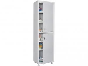 Металлический шкаф медицинский HILFE MD 1 1650/SS купить на выгодных условиях в Екатеринбурге
