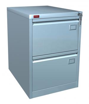Шкаф металлический картотечный КР - 2 купить на выгодных условиях в Екатеринбурге