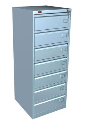 Шкаф металлический картотечный КР - 7 купить на выгодных условиях в Екатеринбурге