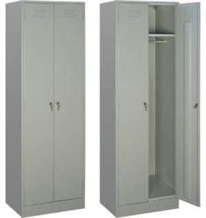 Шкаф металлический для одежды ШРМ - 22/800 купить на выгодных условиях в Екатеринбурге