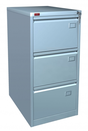 Шкаф металлический картотечный КР - 3 купить на выгодных условиях в Екатеринбурге