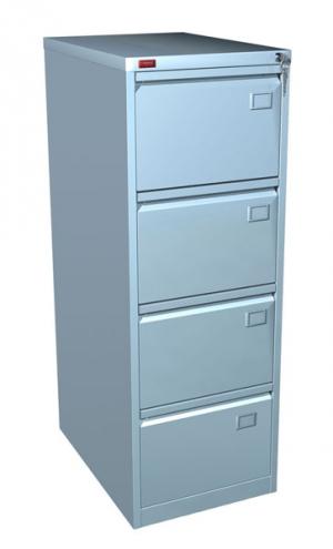 Шкаф металлический картотечный КР - 4 купить на выгодных условиях в Екатеринбурге