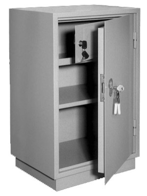 Шкаф металлический для хранения документов КБ - 012т / КБС - 012т купить на выгодных условиях в Екатеринбурге