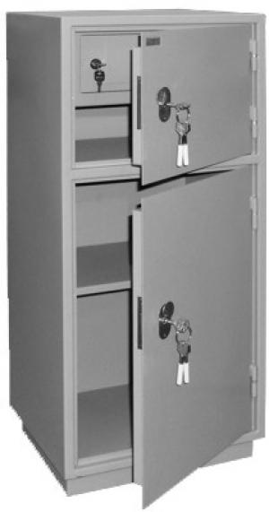 Шкаф металлический бухгалтерский КБ - 042т / КБС - 042т купить на выгодных условиях в Екатеринбурге
