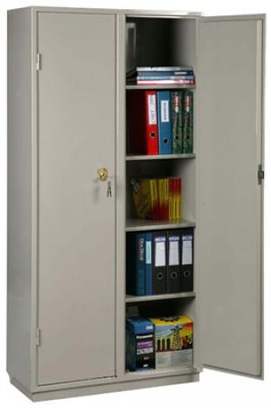 Шкаф металлический для хранения документов КБ - 10 / КБС - 10 купить на выгодных условиях в Екатеринбурге