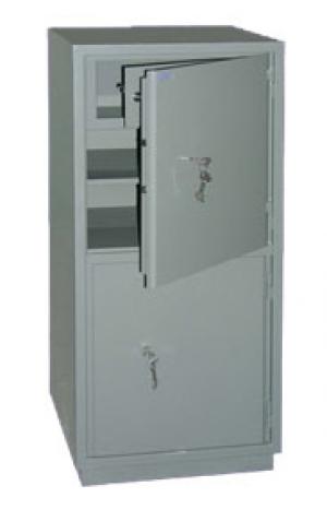 Шкаф металлический бухгалтерский КС-2Т купить на выгодных условиях в Екатеринбурге