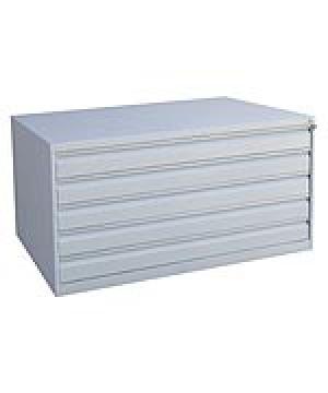 Шкаф металлический картотечный ШК-5-А0 купить на выгодных условиях в Екатеринбурге