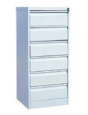 Шкаф металлический картотечный ШК-6(A5) 6 замков купить на выгодных условиях в Екатеринбурге