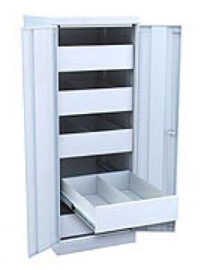 Шкаф металлический картотечный ШК-5-Д2 купить на выгодных условиях в Екатеринбурге