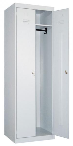 Шкаф металлический для одежды ШР-22-600 купить на выгодных условиях в Екатеринбурге