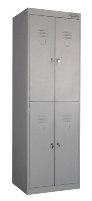 Шкаф металлический для одежды ШРK-24-800 купить на выгодных условиях в Екатеринбурге