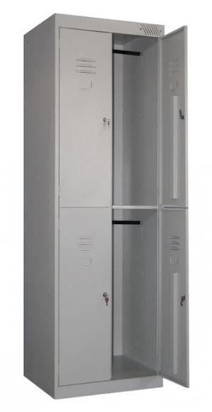 Шкаф металлический для одежды ШРK-24-600 купить на выгодных условиях в Екатеринбурге