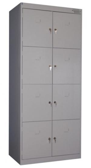 Шкаф металлический для сумок ШРК-28-800 купить на выгодных условиях в Екатеринбурге