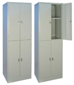 Шкаф металлический для хранения документов ШРМ - 24.0 купить на выгодных условиях в Екатеринбурге