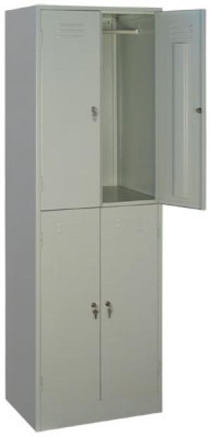 Шкаф металлический для одежды ШРМ - 24 купить на выгодных условиях в Екатеринбурге