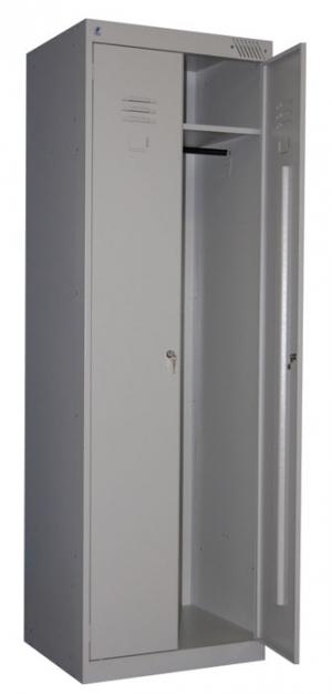 Шкаф металлический для одежды ШРК-22-800 купить на выгодных условиях в Екатеринбурге